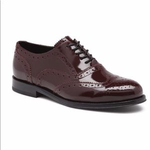 Bass Patent Oxfords